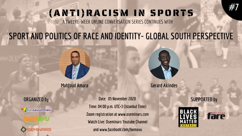 Sport and Politics of Race and Identity- Global South Perspective